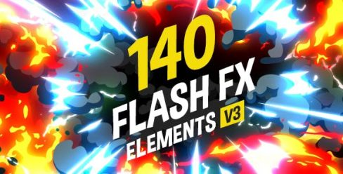 140 Flash FX Elements – 11266469