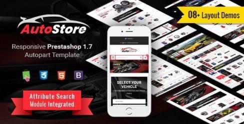AutoStore – Responsive PrestaShop 1.7 Autopart Theme – 22749288