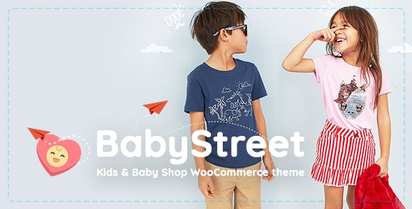 BabyStreet – WooCommerce Theme for Kids Stores and Baby Shops Clothes and Toys – 23461786