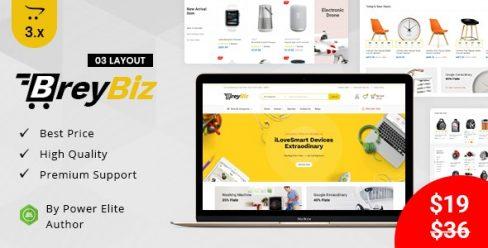 BreyBiz – Multipurpose OpenCart 3 Theme – 24765379