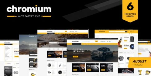 Chromium — Auto Parts Shop Shopify Theme – 22974725