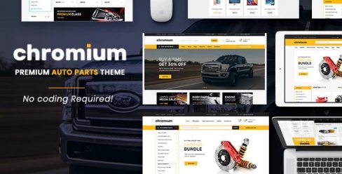 Chromium – The Auto Parts, Equipments and Accessories Opencart Theme with Mobile Layouts – 22534929