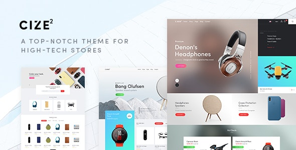 Cize – Electronics Store WooCommerce Theme (RTL Supported) – 23383389