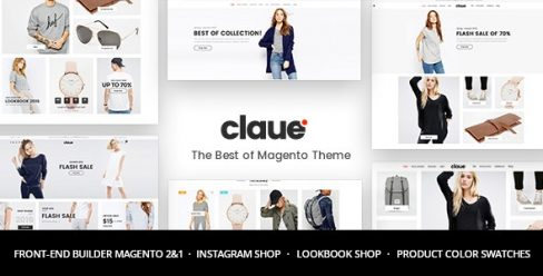 Claue – Clean, Minimal Magento 2 and 1 Theme – 20155150