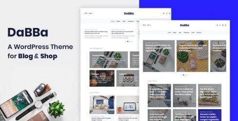 Dabba – A WordPress Theme For Blog & Shop – 23213008