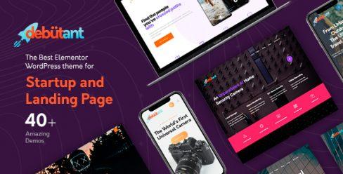 Debutant – Landing Page WP theme – 23682686