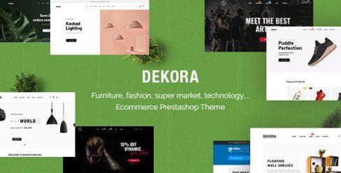 Dekora – Multipurpose Responsive Prestashop 1.7.6.x, 1.7.5.x Theme – 20759876