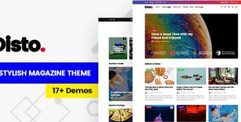 Disto – WordPress Blog Magazine Theme – 21532408
