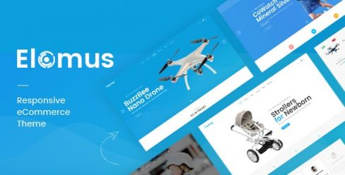 Elomus – Single Product OpenCart Theme – 22266452