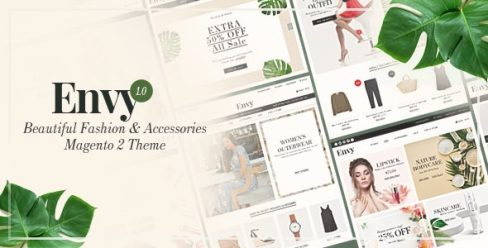 Envy – Beautiful Fashion & Accessories Magento 2 Theme – 22875637