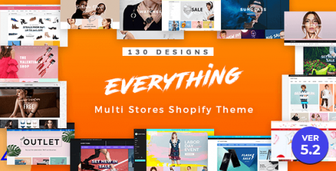 Everything | Multipurpose Responsive Sectioned Shopify Themes Bundle – 13817698
