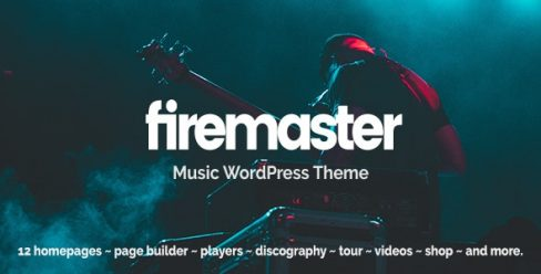 Firemaster – A Creative Music WordPress Theme – 23859394