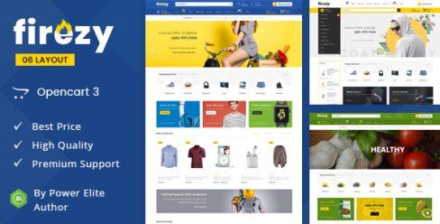 Firezy – Multipurpose OpenCart 3 Theme – 23135643