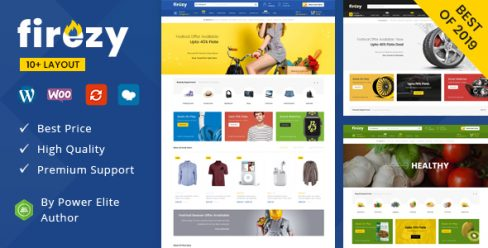 firezy – Multipurpose WooCommerce Theme – 23484040