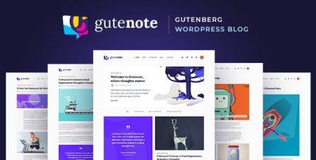 gutenote-gutenberg-wordpress-blog-theme-22857100
