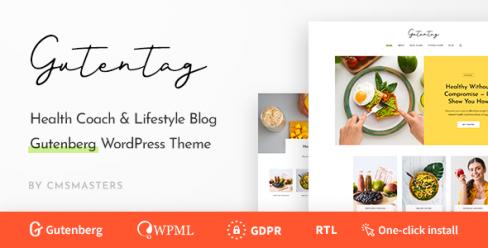 GutenTag – 100% Gutenberg Blog WordPress Theme – 23464949