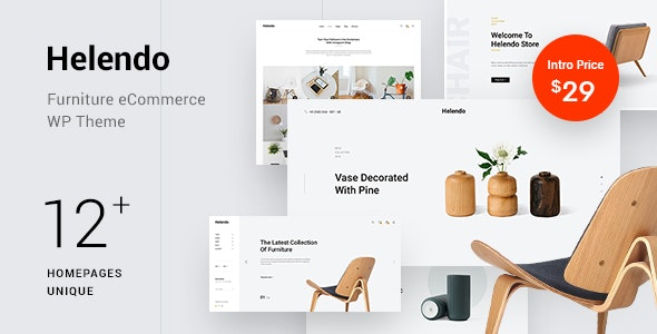 Helendo – Furniture eCommerce WordPress Theme – 23051116