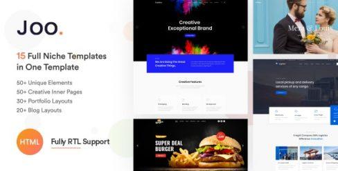 Joo – Niche Multi-Purpose HTML Template – 23767993