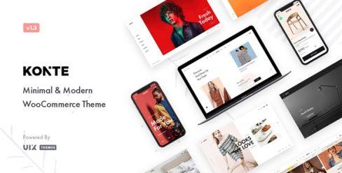 Konte – Minimal & Modern WooCommerce WordPress Theme – 23162599