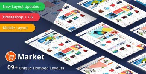Market – Responsive Multipurpose PrestaShop 1.6 and 1.7 Theme – 10803331