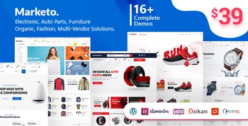 Marketo – eCommerce & Multivendor Marketplace Woocommerce WordPress Theme – 22310459