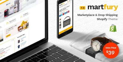 Martfury – Multiple Purposes Marketplace Shopify Theme – 23979102