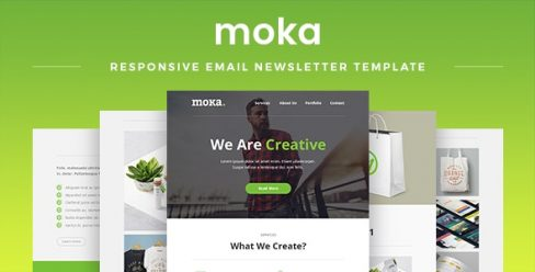 Moka – Responsive Email Newsletter Template – 14421594