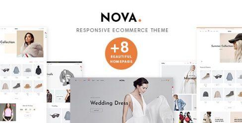 Nova Prestashop 1.7.6.x Theme for Fashion Business – 23196727