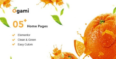 Ogami – Organic Store WordPress Theme – 23346473
