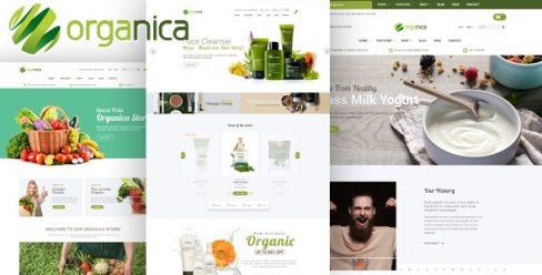 Organica – Organic, Beauty, Natural Cosmetics, Food, Farn and Eco Prestashop 1.6 & 1.7 Theme – 19216612