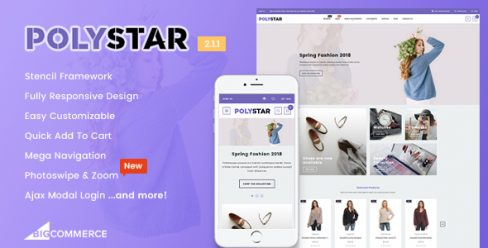 Polystar – Responsive BigCommerce Theme – 21413748
