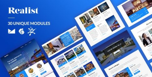 Realist Email-Template + Online Builder – 23491134