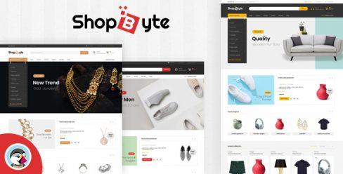 ShopByte – Multipurpose Prestashop 1.7 Responsive Theme – 24758379