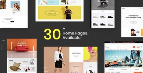 Shopify – Manor Clean, Minimal , Drag & Drop – 21635891