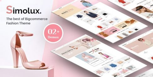 Simolux – Premium Responsive Bigcommerce Template – 24640475