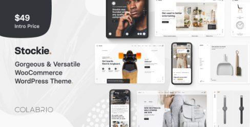 Stockie – Multi-purpose Creative WooCommerce Theme – 23517006