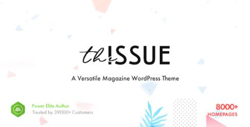 The Issue – Versatile Magazine WordPress Theme – 23448818