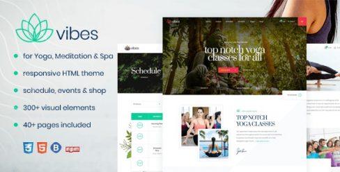 Vibes – HTML Responsive Yoga & Spa Template – 23197867