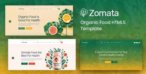 Zomata – Organic Food HTML5 Template – 23269906