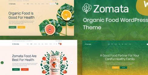 Zomata – Organic Food WordPress Theme + RTL – 23795156