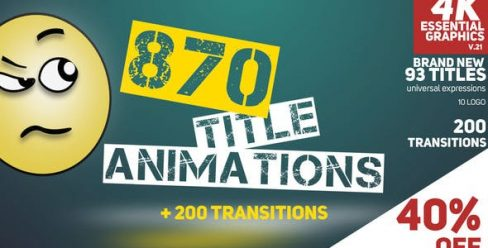 870 Title Animations – 9006125