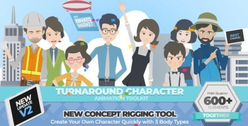 Turnaround Character Animation Toolkit – 22379360