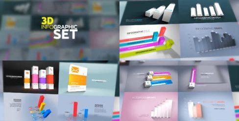 3D Infographics Set – 23635639
