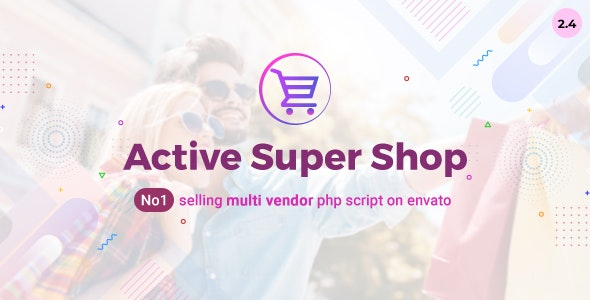 Active Super Shop Multi-vendor CMS - 12124432