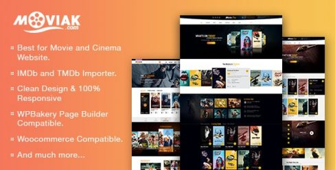AmyMovie – Movie and Cinema WordPress Theme – 18936937