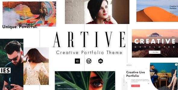 Artive - Creative Portfolio Theme - 25174370