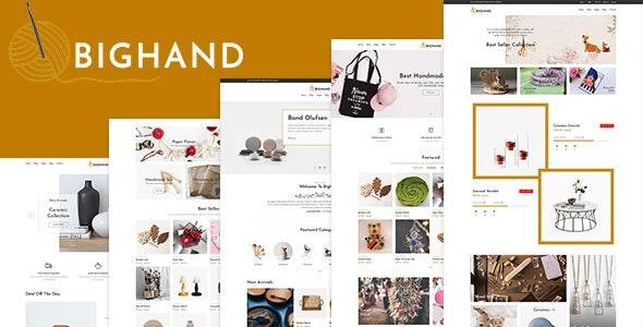 BigHand - Handmade Shop Shopify Theme - 25714216