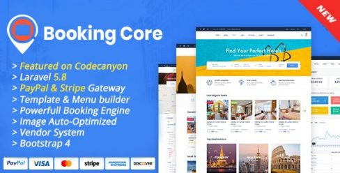 Booking Core – Ultimate Booking System – 24043972