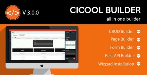 Cicool – Page, Form, Rest API and CRUD Generator – 19207897