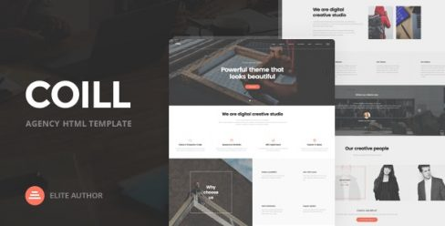 Coill | Business & Agency HTML5 Template – 19523599